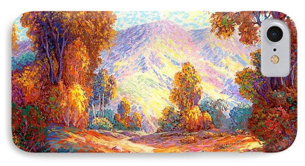 Radiant Peace, Colors Of Fall IPhone Case by Jane Small