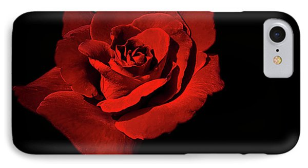 IPhone Case featuring the photograph Deep Red by Ken Frischkorn