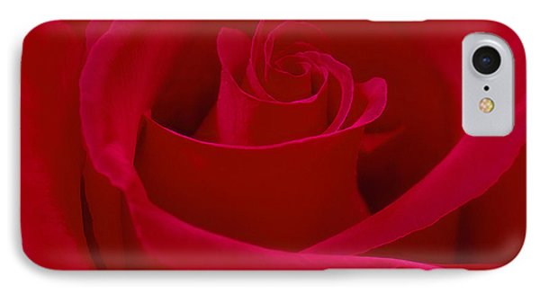 Deep Red Rose Phone Case by Mike McGlothlen
