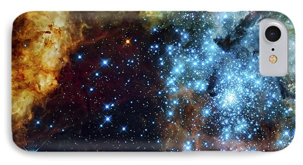 Deep Space Fire And Ice 2 IPhone Case by Jennifer Rondinelli Reilly - Fine Art Photography