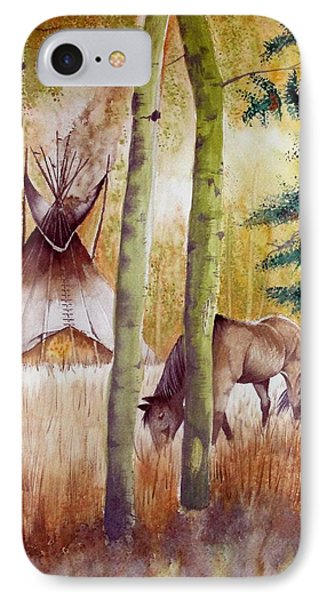 Deep Woods Camp IPhone Case by Jimmy Smith