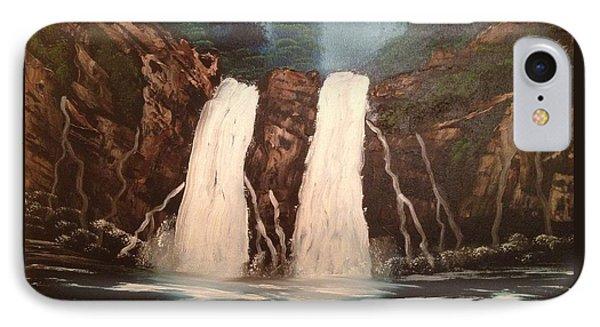 Deep Woods Waterfall Phone Case by Tim Blankenship