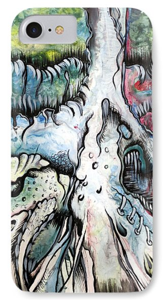 Deeply Rooted IIi IPhone Case by Shadia Derbyshire