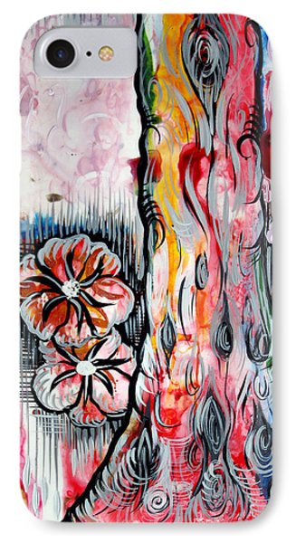 Deeply Rooted V IPhone Case by Shadia Derbyshire