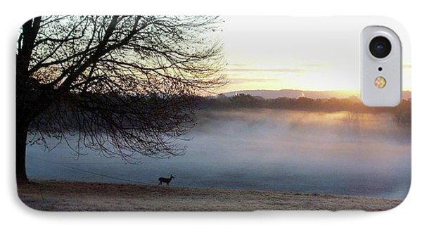 Deer At Dawn IPhone Case