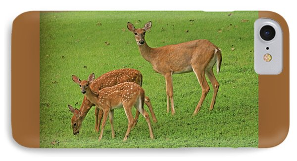 Deer Family IPhone Case by Rick Friedle