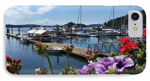 Deer Harbor By Day IPhone Case