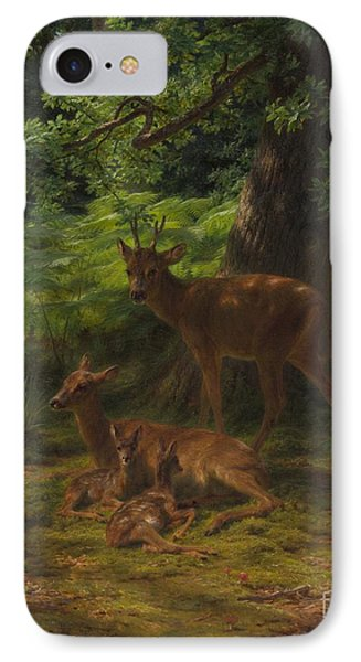 Deer In Repose IPhone Case