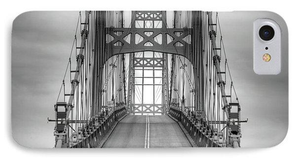 Deer Isle Sedgwick Bridge IPhone Case
