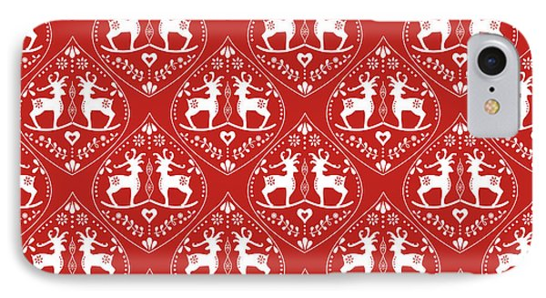 Deer IPhone Case by Kathrin Legg