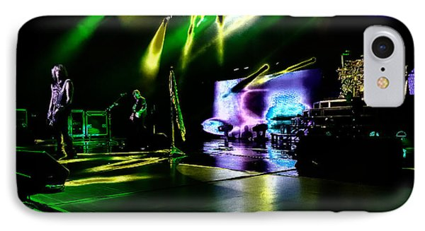 Def Leppard At Saratoga Springs 4 IPhone 7 Case by David Patterson