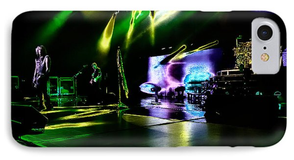Def Leppard At Saratoga Springs 4 IPhone Case by David Patterson
