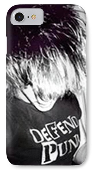 IPhone Case featuring the photograph Defend Punk by Jane Autry