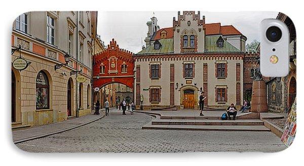 Defensive Walls By Pijarska Street IPhone Case by Panoramic Images