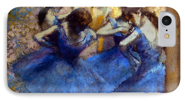 Degas: Blue Dancers, C1890 Phone Case by Granger