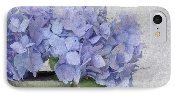 Degas Hydrangea IPhone Case by Karen Lynch