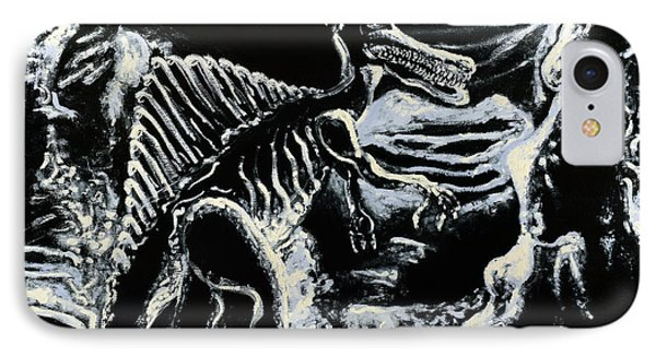 Deinos Sauros    IPhone Case
