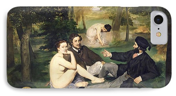 Dejeuner Sur L Herbe Phone Case by Edouard Manet