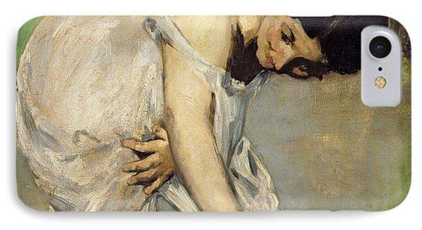 Dejeuner Sur Lherbe Phone Case by Edouard Manet