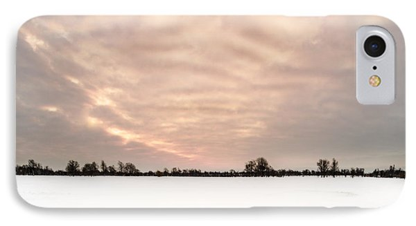 IPhone Case featuring the photograph Delaware Park Winter Solace by Chris Bordeleau