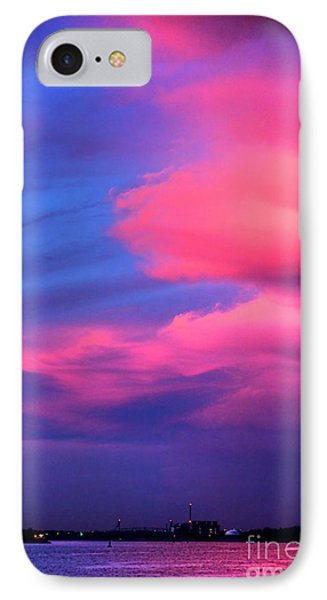 Delaware River Spectacular  IPhone Case by Olivier Le Queinec