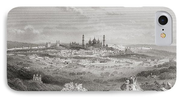 Delhi, India, From A 19th Century IPhone Case by Vintage Design Pics