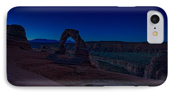 Delicate Arch In The Blue Hour IPhone Case by Rick Berk