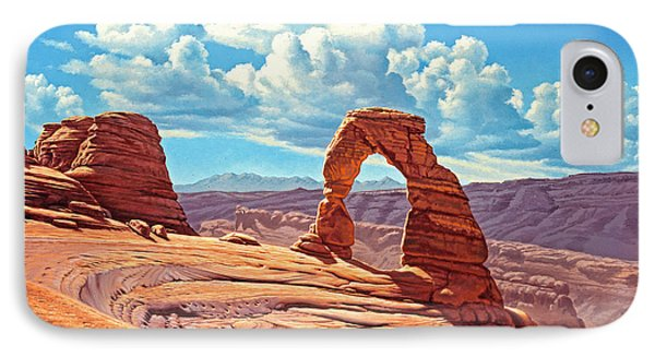Delicate Arch IPhone Case by Paul Krapf