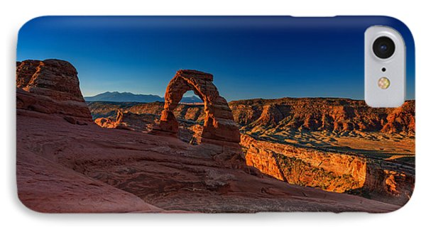 Delicate Arch IPhone Case by Rick Berk