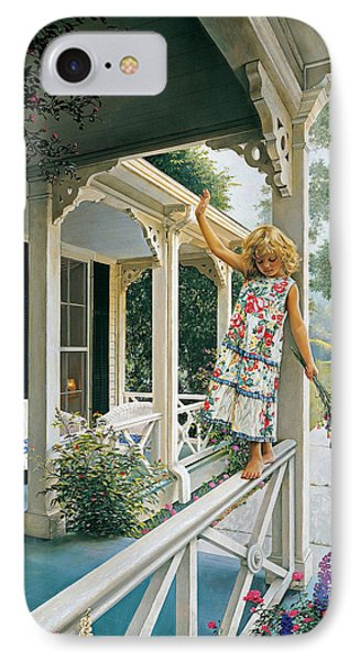 Delicate Balance Phone Case by Greg Olsen