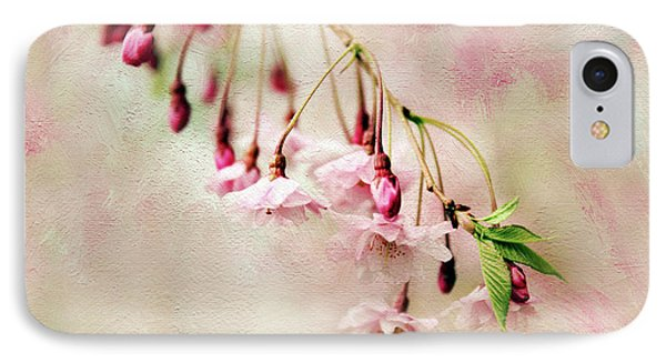 IPhone 7 Case featuring the photograph Delicate Bloom by Jessica Jenney