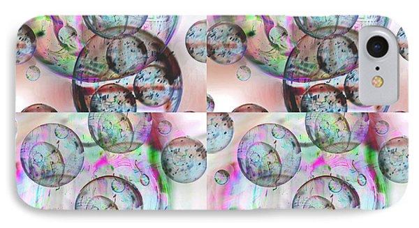Delicate Bubbles IPhone Case by Nareeta Martin