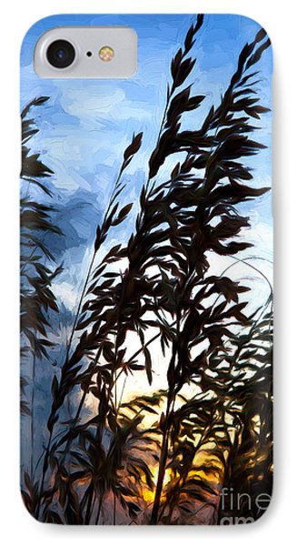 IPhone Case featuring the painting Delicate Dawn I by Dan Carmichael
