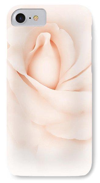 Delicate Peach Rose Flower Phone Case by Jennie Marie Schell