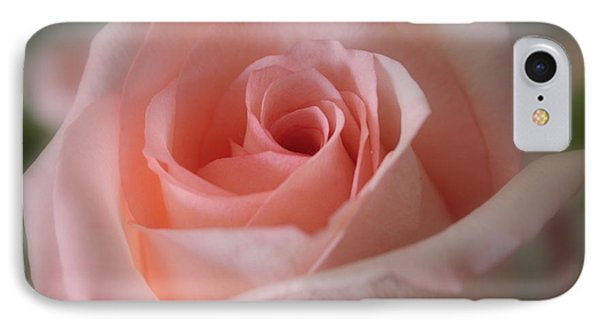 Delicate Pink Rose IPhone Case by Carol Groenen