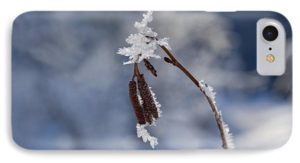 Delicate Winter Phone Case by Mike  Dawson