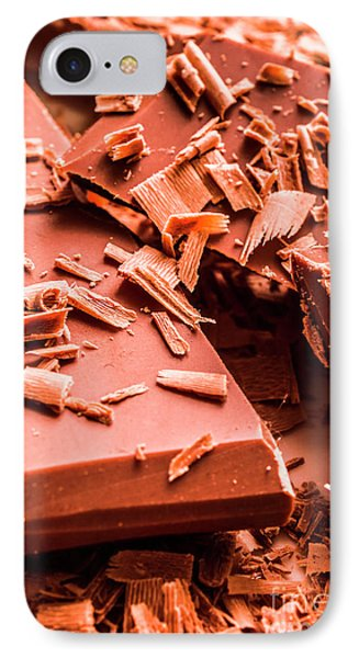 Delicious Bars And Chocolate Chips  IPhone Case by Jorgo Photography - Wall Art Gallery