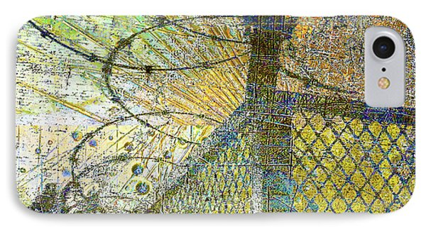 IPhone Case featuring the mixed media Deliverance by Tony Rubino
