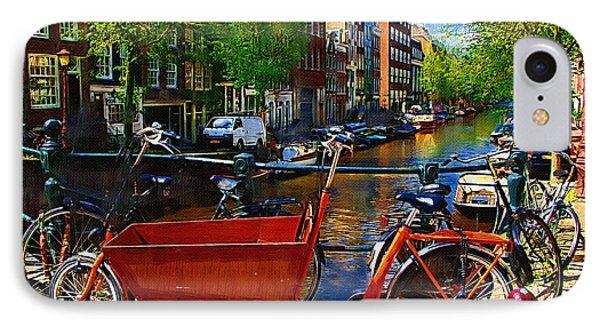 Delivery Bike Phone Case by Tom Reynen