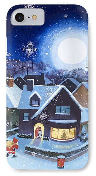 Delivery By Father Christmas IPhone Case by English School
