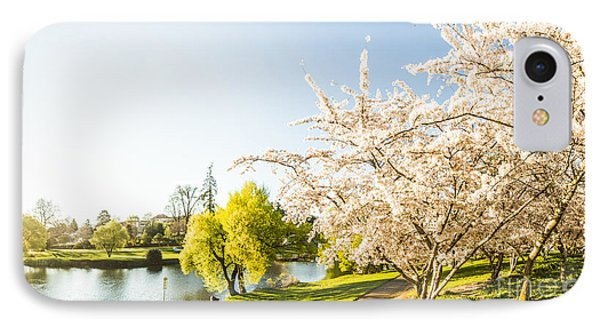 Deloraine Cherry Tree Panorama IPhone Case by Jorgo Photography - Wall Art Gallery
