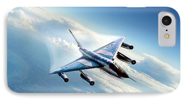 Delta Wing Wonder IPhone Case by Peter Chilelli