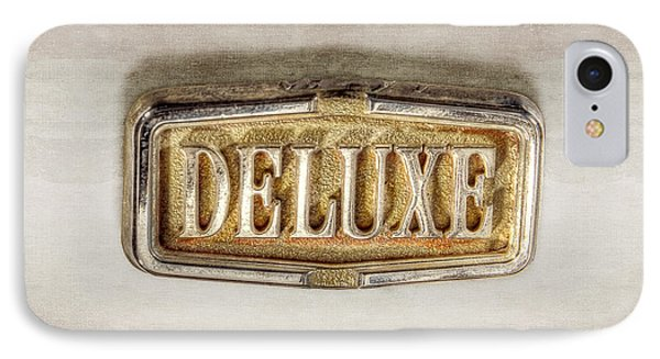 Deluxe Chrome Emblem IPhone Case