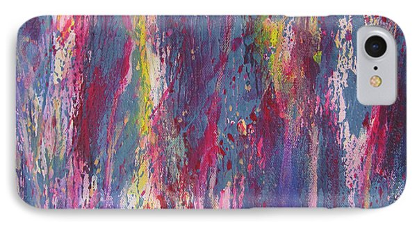 IPhone Case featuring the painting Delve Deep 2 by Mini Arora