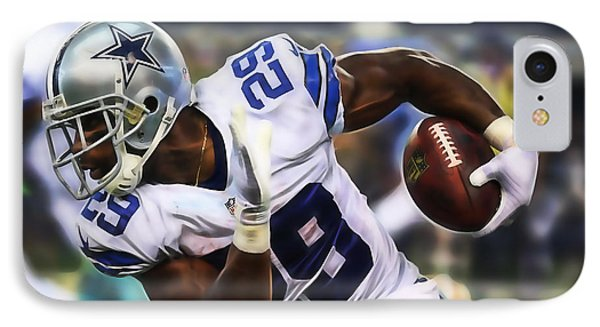 Demarco Murray IPhone Case by Marvin Blaine