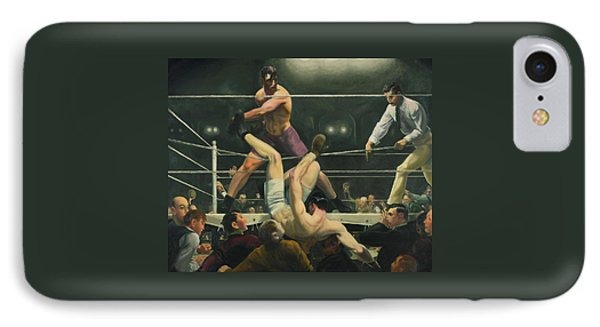 Dempsey And Firpo Boxing - George Bellows  IPhone Case by War Is Hell Store