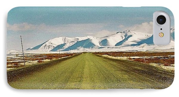 Dempster Highway - Yukon Phone Case by Juergen Weiss