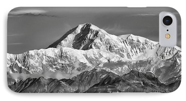 Denali Grey IPhone Case by Ed Boudreau