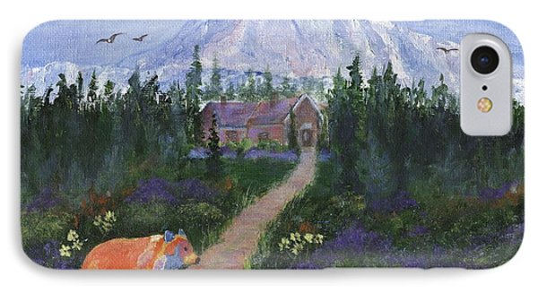 IPhone Case featuring the painting Denali by Jamie Frier