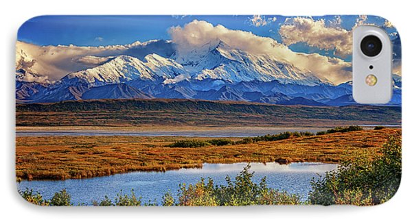 Denali, The High One IPhone Case by Rick Berk